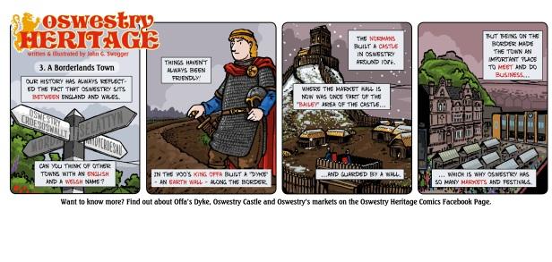 Oswestry Heritage Comics - week 3